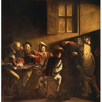 Tableau -La Vocation de saint Matthieu- Caravage