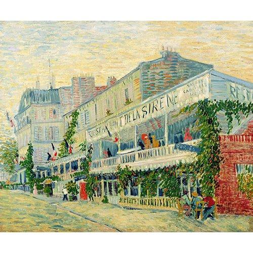 Tableau -Restaurant de la Sirène, Asnieres, 1887-