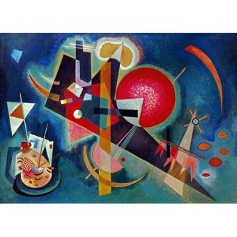 - Tableau - En Bleu, 1925 - - Kandinsky, Vassily