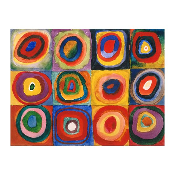 Tableau - Cercles concentriques, 1913 -