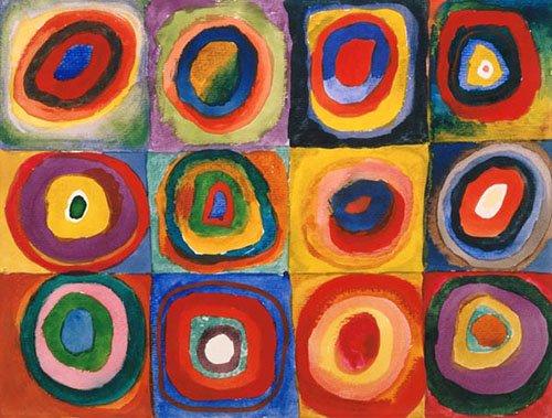 tableaux-abstraits - Tableau - Cercles concentriques, 1913 - - Kandinsky, Vassily