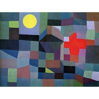- Tableau - Feu, Pleine Lune, 1933 - - Klee, Paul