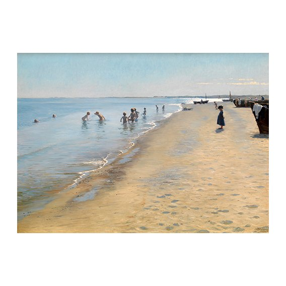 Tableau -Summer Day at the South Beach of Skagen-