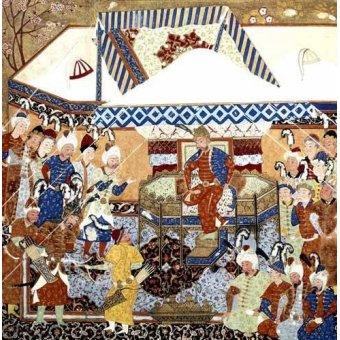 Tableaux orientales - Tableau -La Corte Turco-Mongolia del Emperador Tamerlan- - _Anónimo Persa