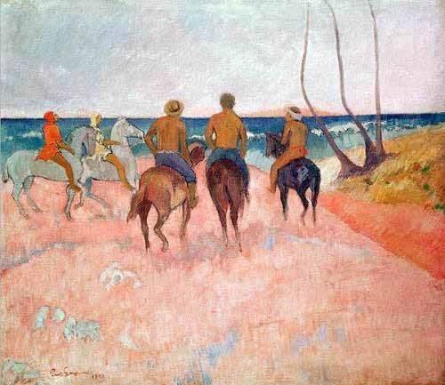 tableaux-de-personnages - Tableau -Hiva Hoa- - Gauguin, Paul