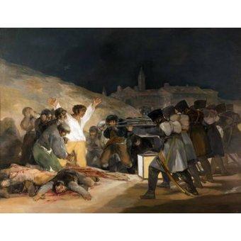 Tableau -Ejecución de los defensores de Madrid, 3 de mayo de 1808-
