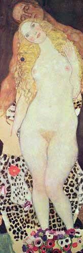 tableaux-de-personnages - Tableau -Adam et Eve- - Klimt, Gustav