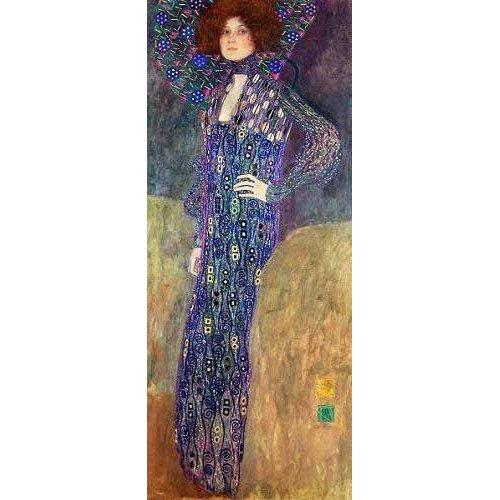 pinturas do retrato - Quadro -Emilie Floege-