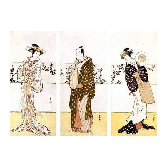 imagens étnicas e leste - Quadro -Actores japoneses-