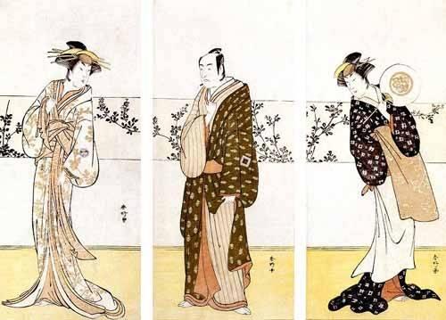tableaux-orientales - Tableau -Actores japoneses- - Sunko, Kaisukawa