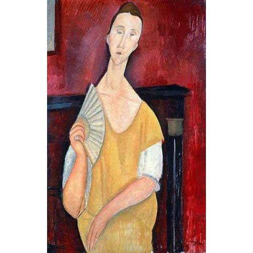 Tableau -Mujer con abanico-
