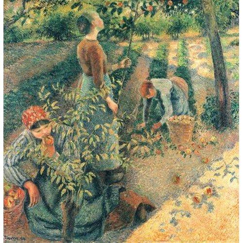Tableau -Cueilleurs de pommes-