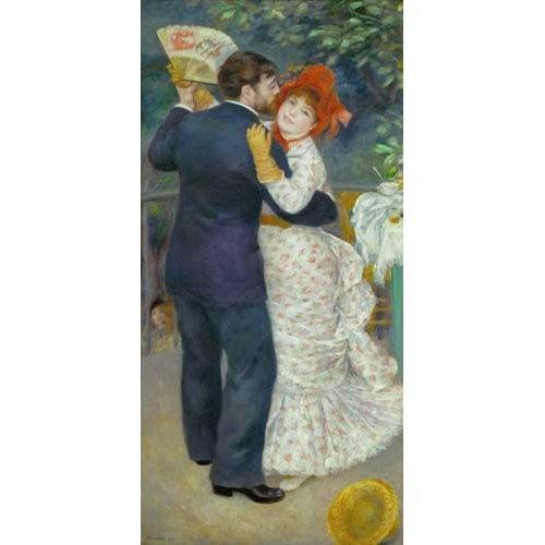 pinturas do retrato - Quadro -A Dance in the Country-