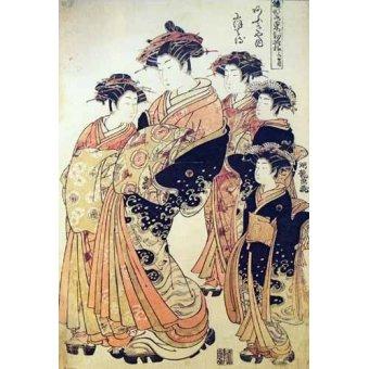 Tableaux orientales - Tableau -jpk00265- - _Anónimo Japones