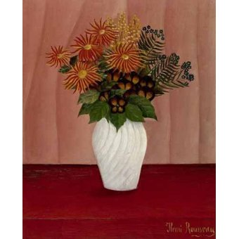 Tableaux de Fleurs - Tableau -Flores- - Rousseau, Henri