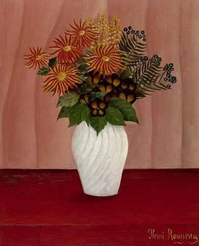 tableaux-de-fleurs - Tableau -Flores- - Rousseau, Henri