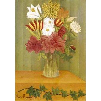 Tableaux de Fleurs - Tableau -Ramo de flores- - Rousseau, Henri