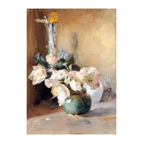 imagens de flores - Quadro -Rosas de Navidad-