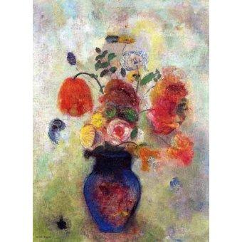 Tableaux de Fleurs - Tableau -Ramo de Flores 2- - Redon, Odilon