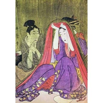 Tableaux orientales - Tableau -jpk00784- - _Anónimo Japones
