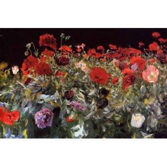 Tableaux de Fleurs - Tableau - Coquelicots - - Sargent, John Singer