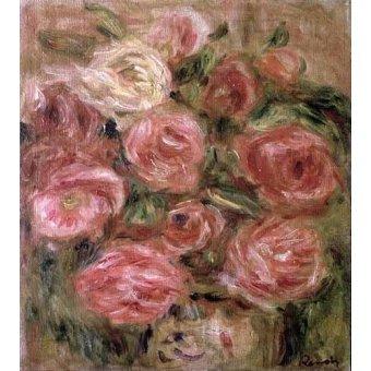 Tableaux de Fleurs - Tableau -Des fleurs- - Renoir, Pierre Auguste