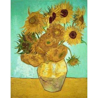 Tableaux de Fleurs - Tableau - Les Tournesols 3- - Van Gogh, Vincent