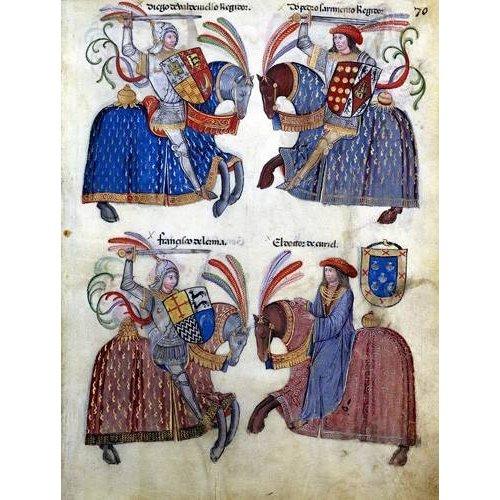 Tableau -Libro de los caballeros de Santiago-2-