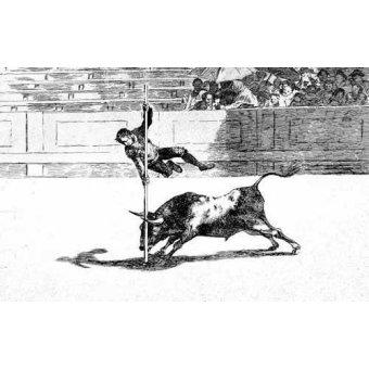 Tableaux cartes du monde, dessins - Tableau -Tauromaquia num. 20: Ligereza y atrevimiento- - Goya y Lucientes, Francisco de