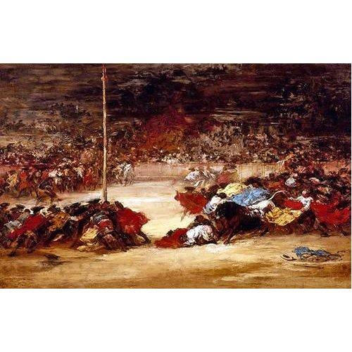 Tableau -La corrida-