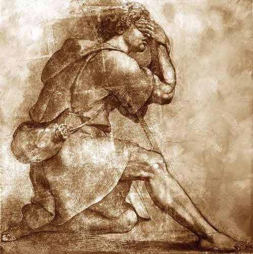 tableaux-cartes-du-monde-dessins - Tableau -Moses- - Raphaël, Sanzio da Urbino Raffael