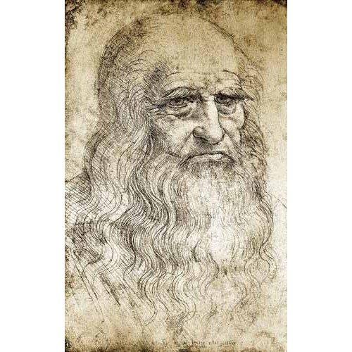 Tableau -Autorretrato de Leonardo da Vinci-