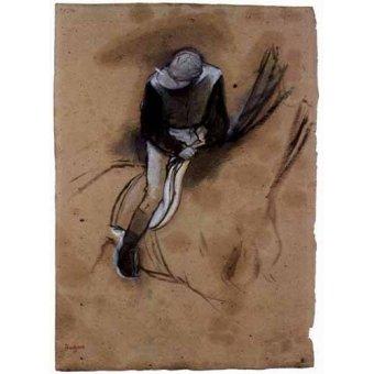 Tableau -Le jockey-