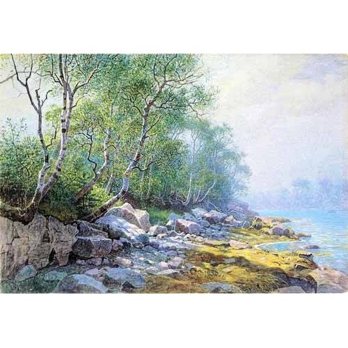 Tableau -Seal Harbor Mount Desert Maine-