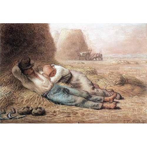 Tableau -La méridienne, 1866 -
