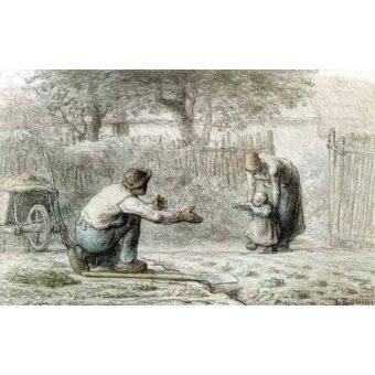 Tableau -Les premiers pas, 1859-