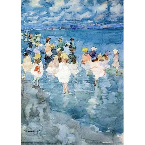 Tableau -Niños en la playa-