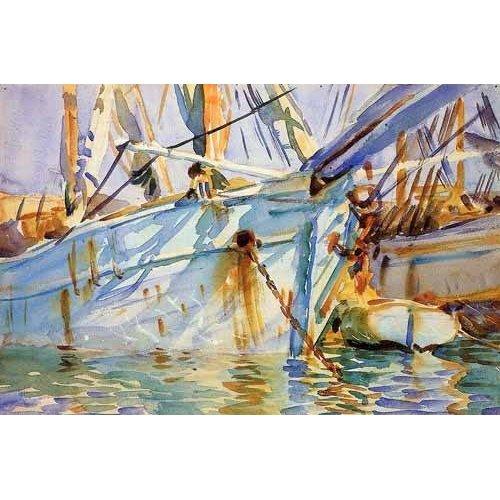 Tableau -En un puerto Levantino-