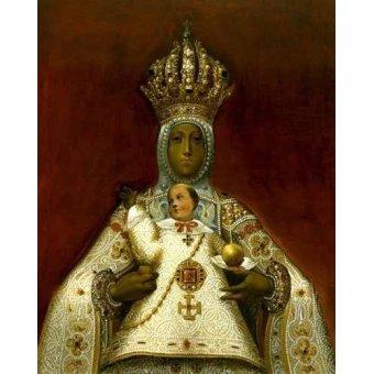 Tableaux religieuses - Tableau -La Virgen del Sagrario- - _Anónimo Toledano