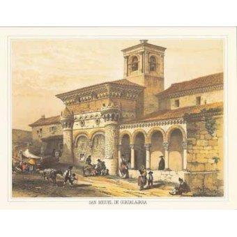 Tableaux cartes du monde, dessins - Tableau -San Miguel de Guadalajara- - Villaamil, Jenaro Perez de