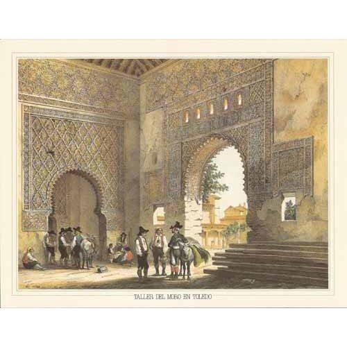 Tableau -Taller del moro en Toledo-
