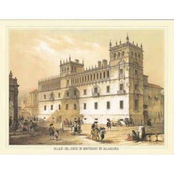 Tableaux cartes du monde, dessins - Tableau -Palacio del Conde de Monterrey en Salamanca- - Villaamil, Jenaro Perez de