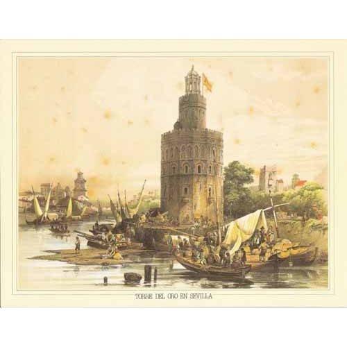 Tableau -Torre del Oro en Sevilla-