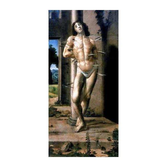 imagens religiosas - Quadro -San Sebastian-