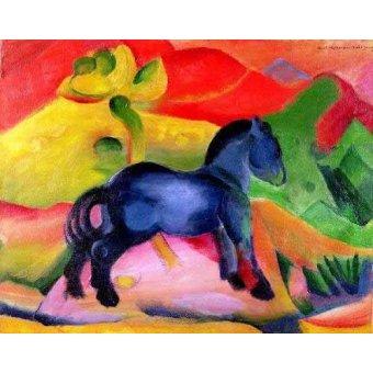 Tableaux pour enfants - Tableau -Caballito Azul- - Marc, Franz