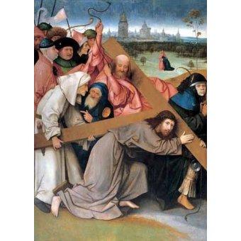 Tableaux religieuses - Tableau - Christ portant la croix - - Bosco, El (Hieronymus Bosch)