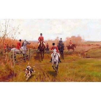 Tableaux de faune - Tableau -Over The Fence- - Blinks, Thomas