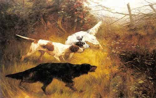 tableaux-de-faune - Tableau -Three Pointers in a Landscape- - Blinks, Thomas
