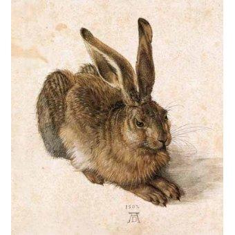 Tableaux de faune - Tableau -Joven Liebre- - Dürer, Albrecht (Albert Durer)