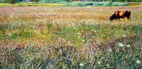 tableaux-de-paysages - Tableau -Roman countryside- - Boccioni, Umberto